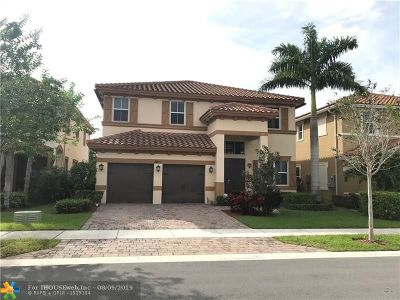 Coral Springs Single Family Home For Sale: 8611 Waterside Ct