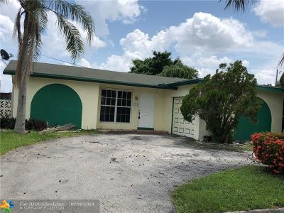 Sunrise Single Family Home For Sale: 9494 NW 26th St