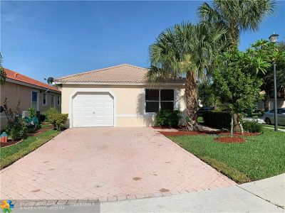 Coral Springs Single Family Home For Sale: 3934 NW 88th Te