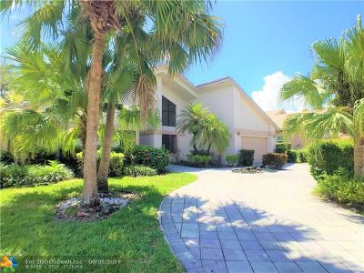 Coral Springs Single Family Home For Sale: 1941 Oakmont Ter