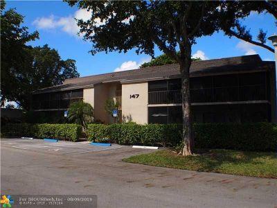 Deerfield Beach Condo/Townhouse For Sale: 147 Deer Creek Blvd #408