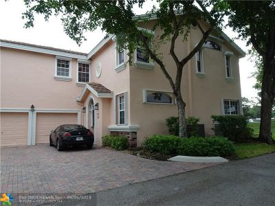 Coral Springs Condo/Townhouse For Sale: 12331 NW 10th Dr #A5