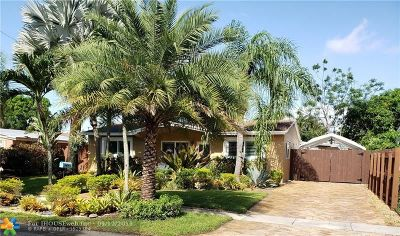 Fort Lauderdale Single Family Home For Sale: 1501 SW 35 Terrace