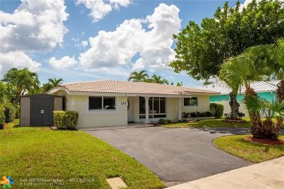 Pompano Beach Single Family Home For Sale: 268 SE 3rd Ter