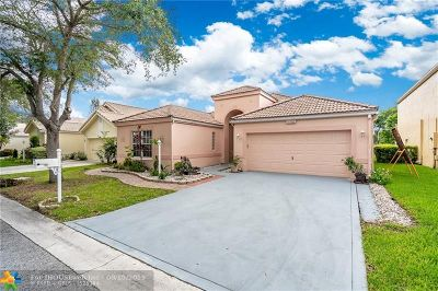 Coral Springs Single Family Home Backup Contract-Call LA: 11748 NW 2nd Dr
