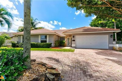Coral Springs Single Family Home For Sale: 4964 NW 84th Rd