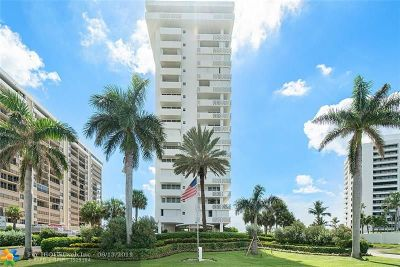 Boca Raton Condo/Townhouse For Sale: 1200 S Ocean Blvd #16H