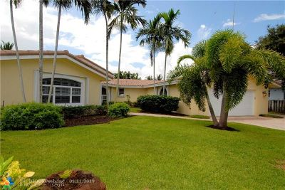Fort Lauderdale Single Family Home For Sale: 2790 NE 57th Ct
