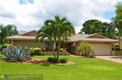 Coral Springs Single Family Home For Sale: 9942 NW 6th Street