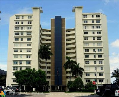 Pompano Beach Condo/Townhouse For Sale: 710 N Ocean Blvd #205