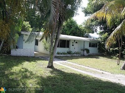 Pompano Beach Single Family Home For Sale: 912 NE 25th Ave