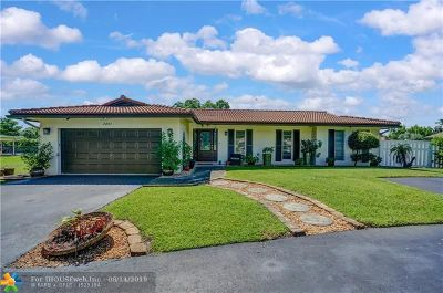 Coral Springs Single Family Home For Sale: 2891 NW 107 Avenue