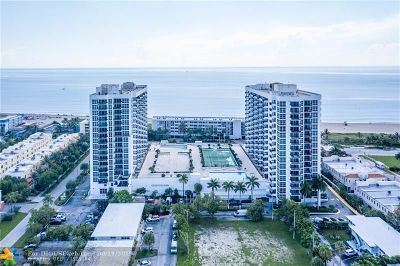 Pompano Beach Condo/Townhouse For Sale: 531 N Ocean Boulevard #1102