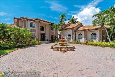 Weston Single Family Home For Sale: 3845 Windmill Lakes Rd