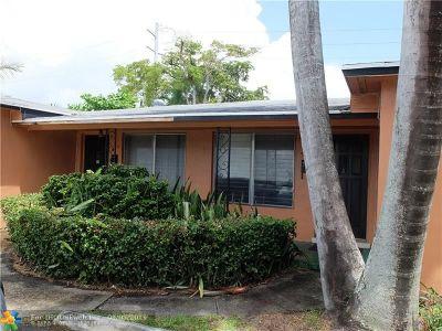 Hallandale Multi Family Home For Sale: 903-905 NE 7th St