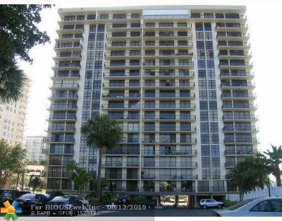 Fort Lauderdale Condo/Townhouse For Sale: 3031 N Ocean Blvd #1908
