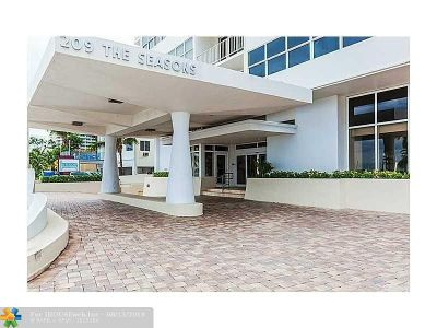 Rental For Rent: 209 N Fort Lauderdale Beach Blvd #3A