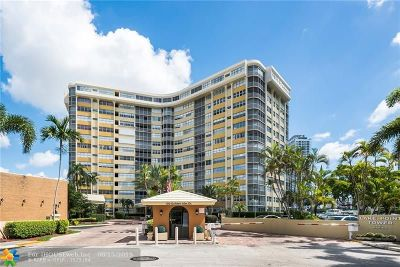 Hallandale Condo/Townhouse For Sale: 100 Golden Isles Dr #106