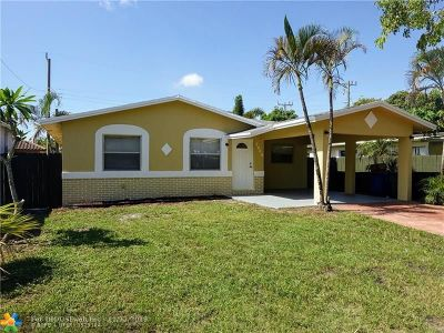 Fort Lauderdale Single Family Home For Sale: 2640 NW 14th Ct