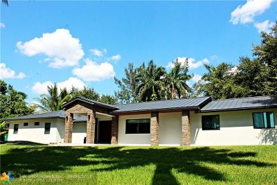 Davie Single Family Home For Sale: 2700 SW 116th Ave