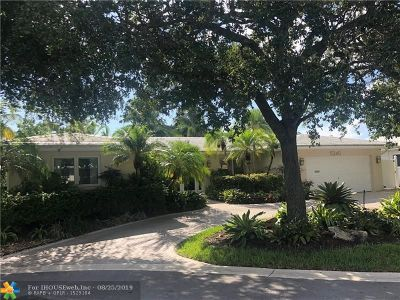 Fort Lauderdale Single Family Home For Sale: 5240 NE 29th Avenue