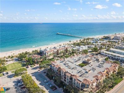 Lauderdale By The Sea Condo/Townhouse For Sale: 4445 El Mar Dr #PH2403