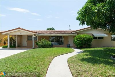 Fort Lauderdale Single Family Home For Sale: 5870 NE 21st Ln