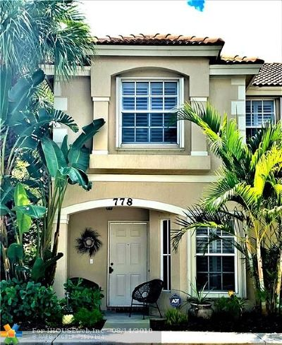 West Palm Beach Condo/Townhouse Backup Contract-Call LA: 778 Summit Lake Dr