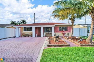 Oakland Park Single Family Home For Sale: 433 NW 49th St