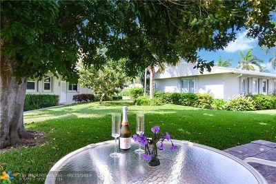 Pompano Beach Single Family Home For Sale: 3318 SE 10th St