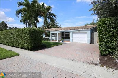 Fort Lauderdale Single Family Home For Sale: 6231 NE 22nd Ave
