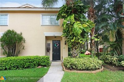 Coconut Creek Condo/Townhouse For Sale: 5700 NW 48th Ave