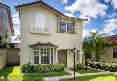 Pembroke Pines Condo/Townhouse For Sale: 711 NW 108th Ter #711