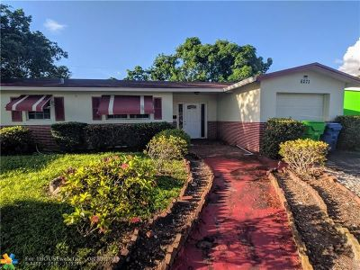 Sunrise Single Family Home For Sale: 6271 NW 13 St