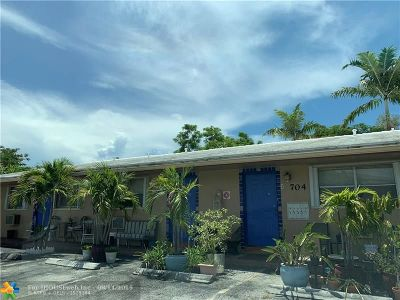 Wilton Manors Rental For Rent: 704 NE 23rd Drive #2