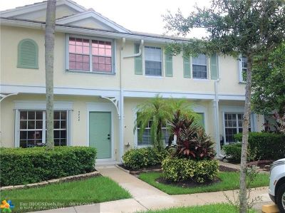 Coral Springs Condo/Townhouse Backup Contract-Call LA: 9872 NW 56th Place