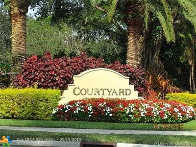 Weston Condo/Townhouse For Sale: 3843 Tree Top Dr #3843