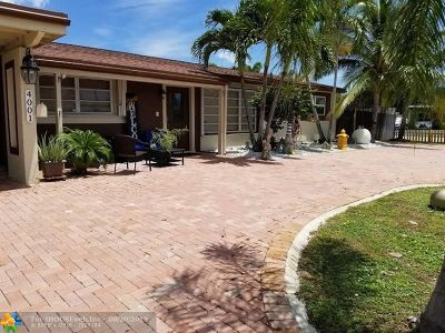 Pompano Beach Single Family Home For Sale: 4001 NW 3rd Ave