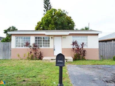 Boynton Beach FL Single Family Home For Sale: $209,000
