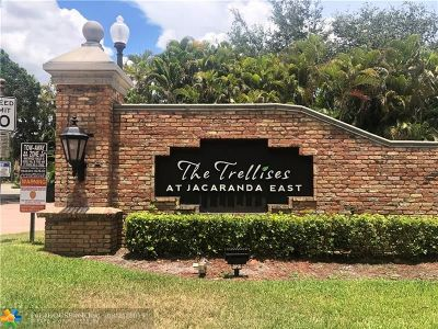 Plantation Condo/Townhouse For Sale: 9701 N New River Canal Rd