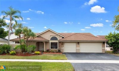 Weston Single Family Home For Sale: 16931 SW 4th Ct