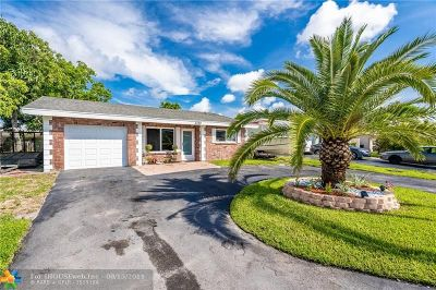 Fort Lauderdale Single Family Home For Sale: 3169 NW 65th Dr