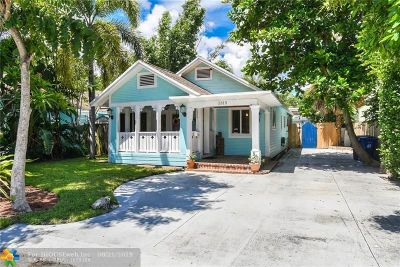 Fort Lauderdale Single Family Home For Sale: 1315 NE 5th Ter