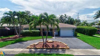 Pompano Beach Single Family Home For Sale: 401 SE 1st Ter
