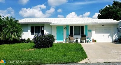 Pompano Beach Single Family Home For Sale: 2651 NW 4th Ave