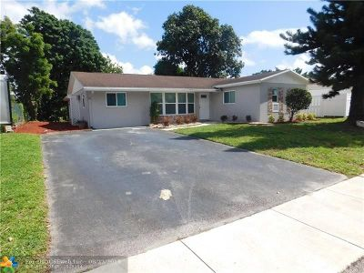Margate Single Family Home For Sale: 6841 NW 6th Ct