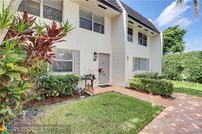 Coral Springs Condo/Townhouse For Sale: 9050 NW 28th Street #123