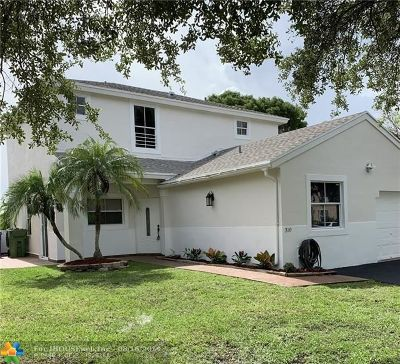 Pembroke Pines Single Family Home For Sale: 310 NW 207th Way