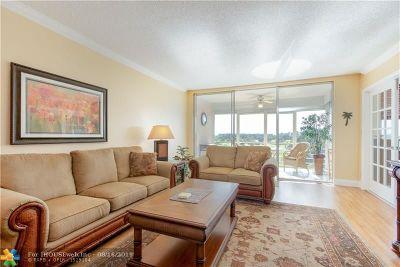 Pompano Beach Condo/Townhouse For Sale: 2671 S Course Dr #507