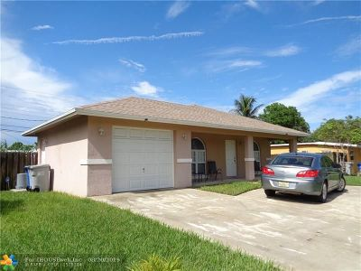 Pompano Beach Single Family Home For Sale: 1825 NE 49th St